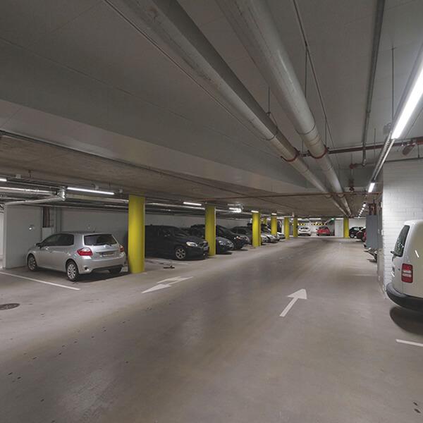 Packing garage lighting