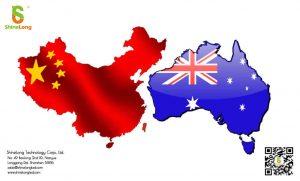 good relationship between China and Australia