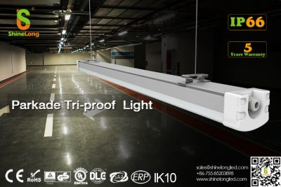 Parkade triproof light for garage lighting