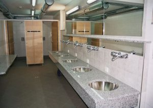 Clean sanitary area