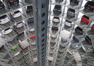 Parkade car park