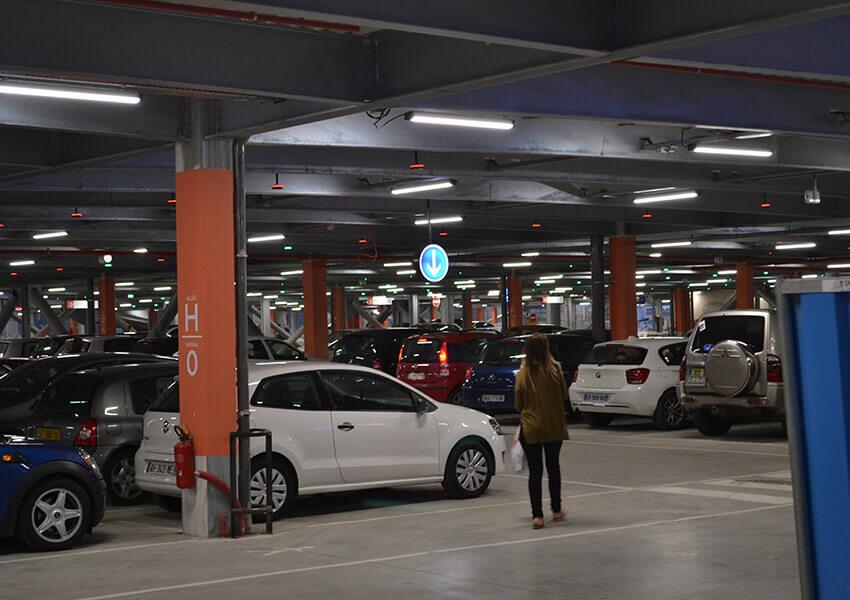 Parkade garage