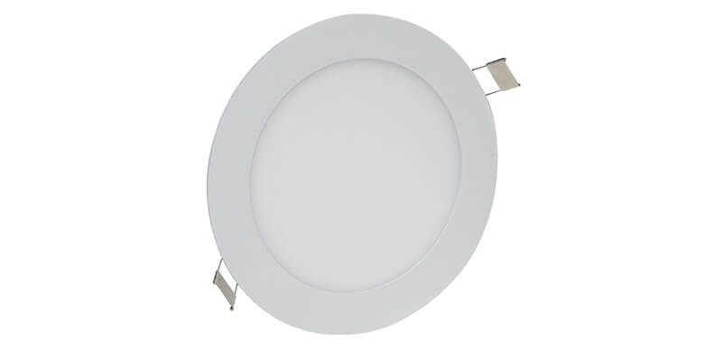 Disc round panel light
