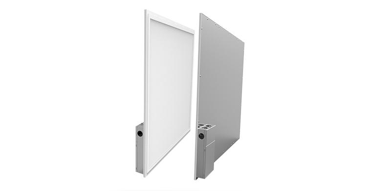Slice US flat panel with driver box