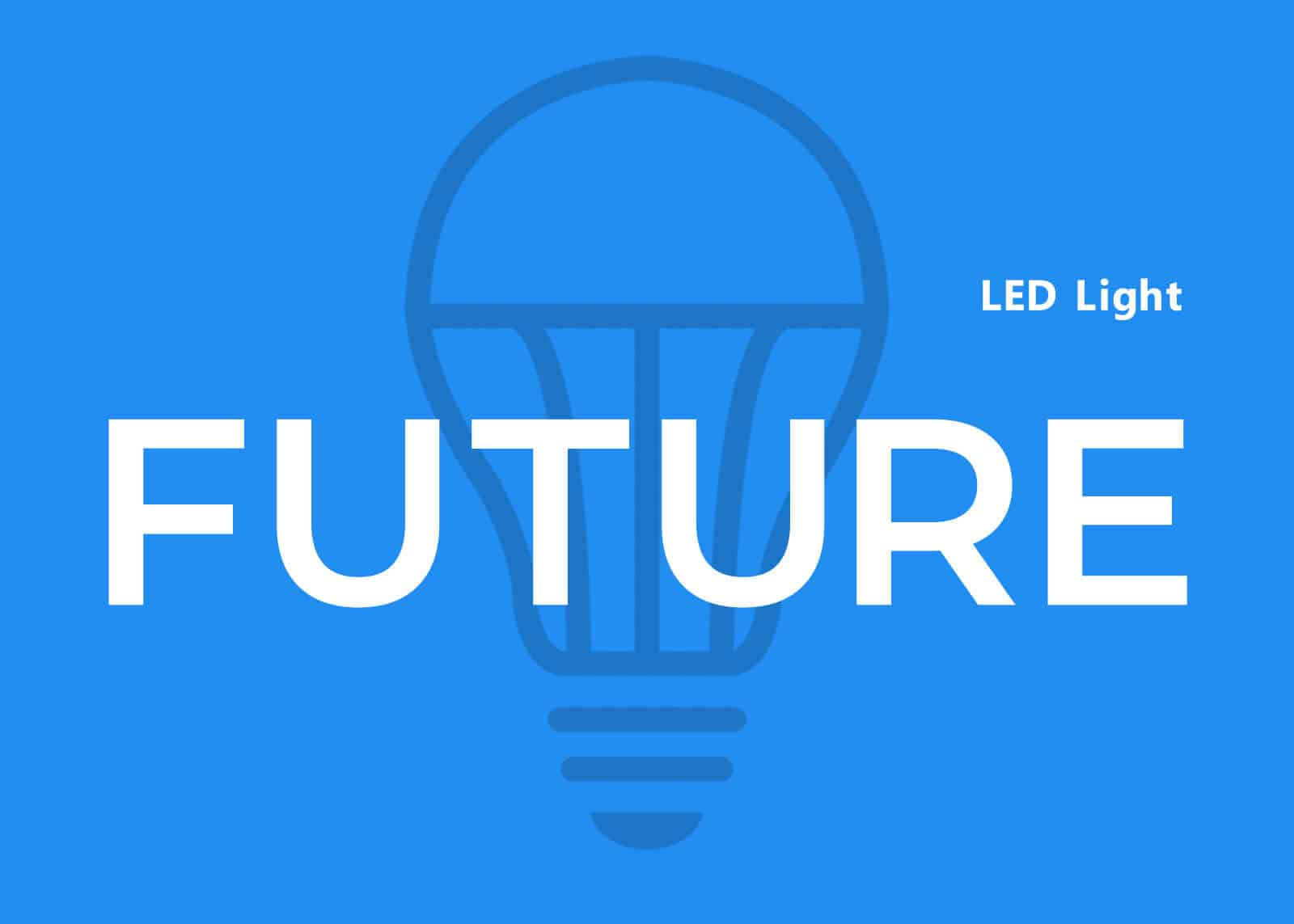 LED light future image