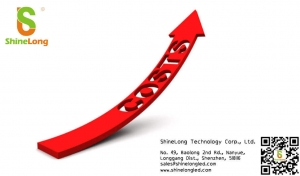 Rising costs of raw materials in LED
