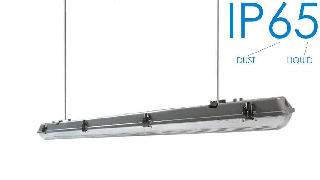 The IP65 Waterproof Level of Led Fixtures