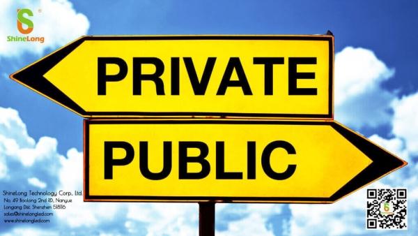 go public