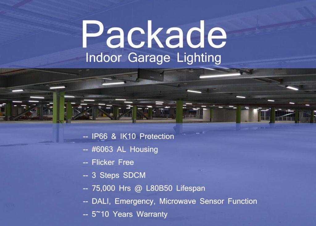 Indoor garage lighting