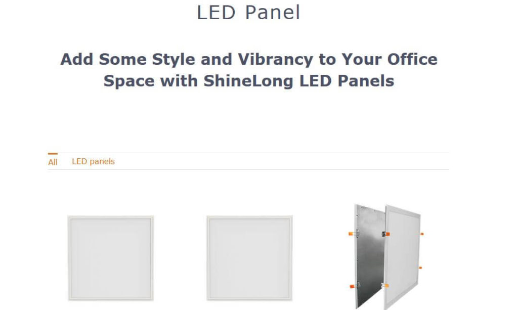 ShineLong LED Panels
