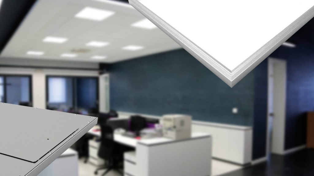 Intact square led lights Banner Image