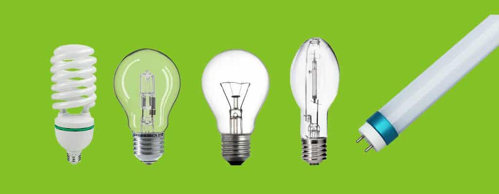 fluorescents, halogens, incandescent bulbs,HIDs and LED tubes