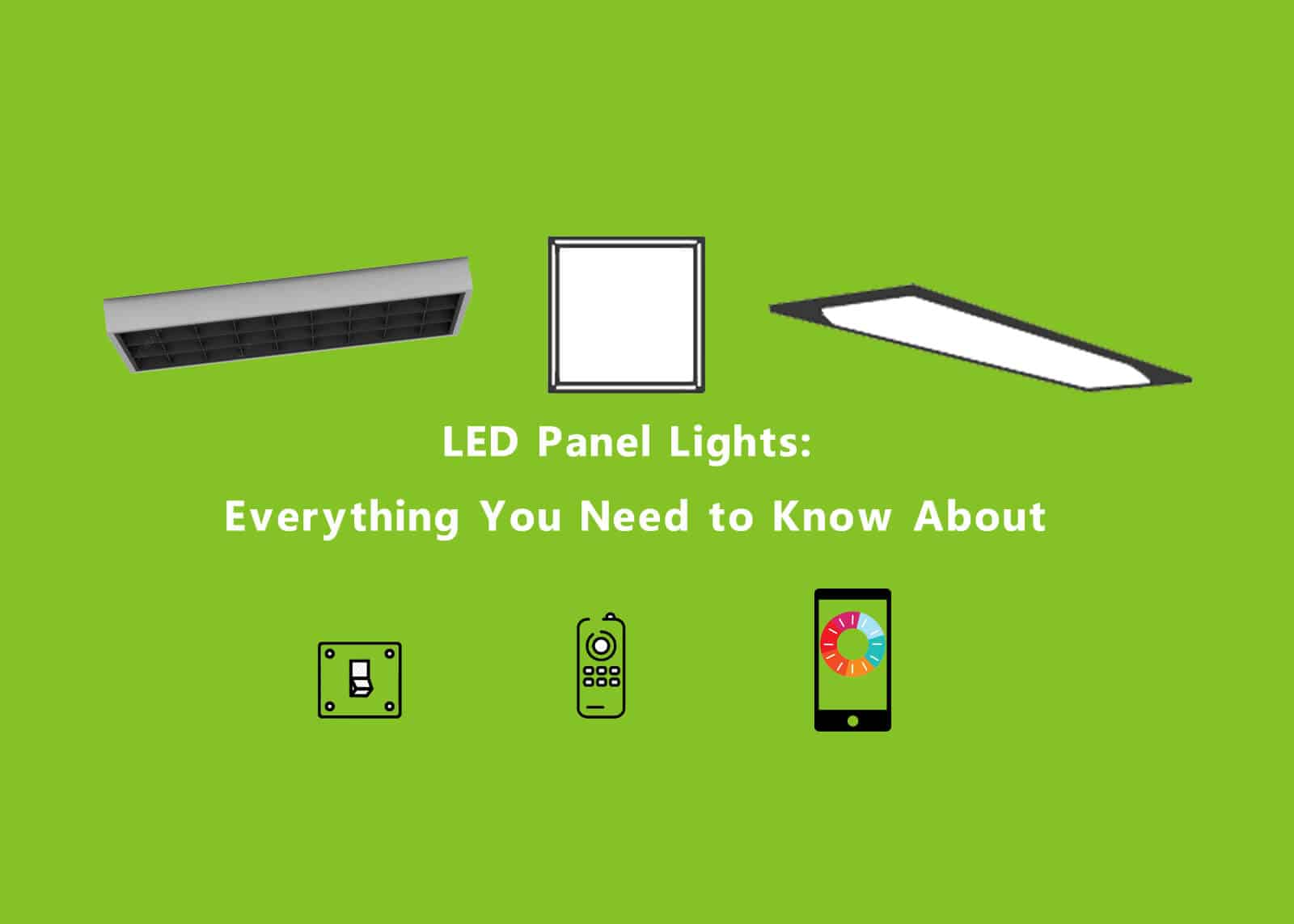 LED Panel Lights Feature Image