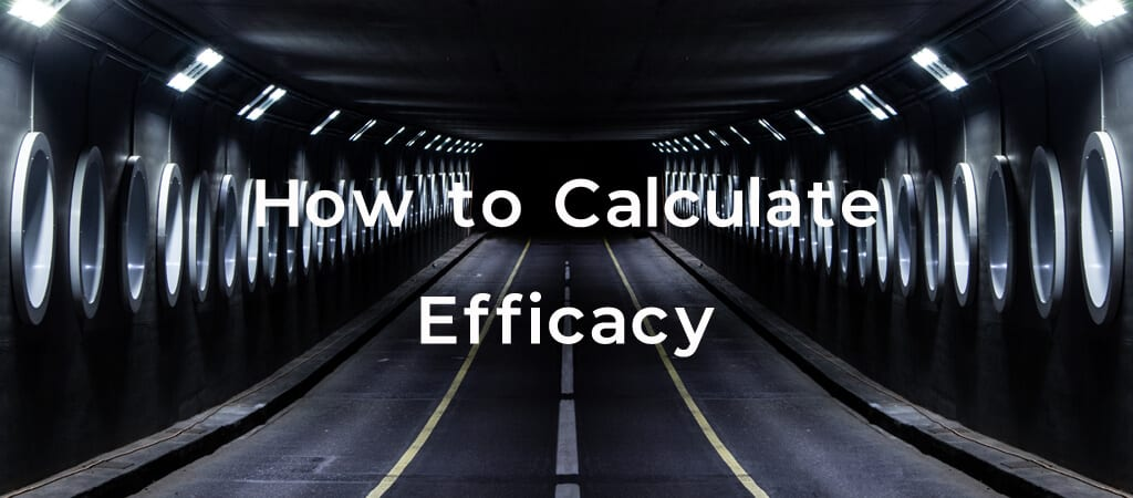 How to Calculate Efficacy