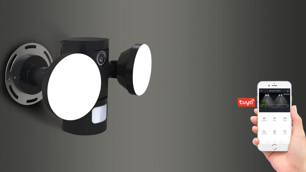 Eye LED Security Light Banner
