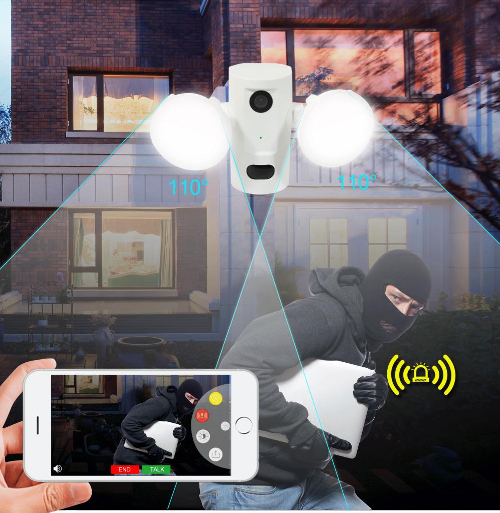 wifi motion sensor light