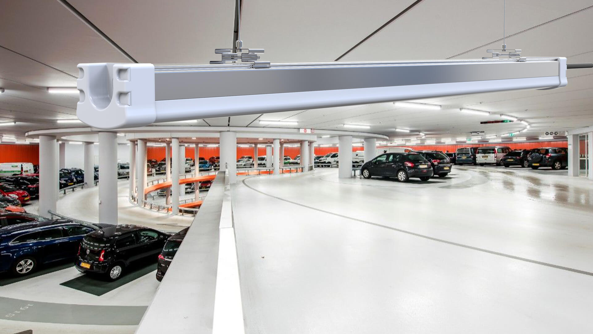 Parkade Indoor Garage Lights Banner Image