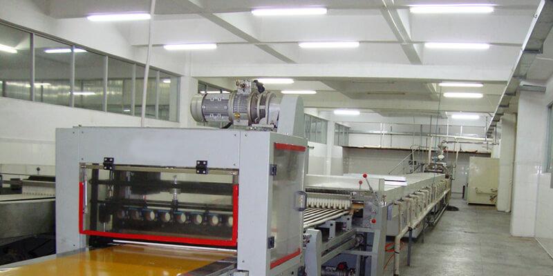 Alpha Vapor Tight LED Light for factory lighting
