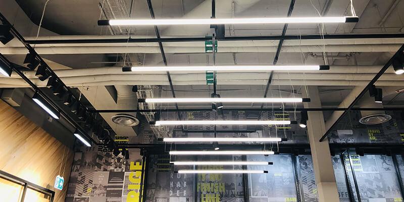 T6 tube lights for store lighting