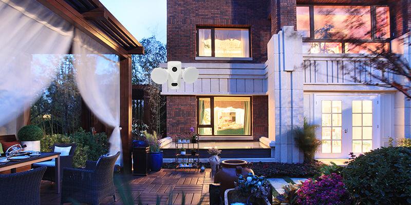 Eye Security Lights for Courtyard Lighting
