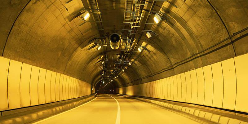 LED Tunnel Light for Underground Tunnel Lighting