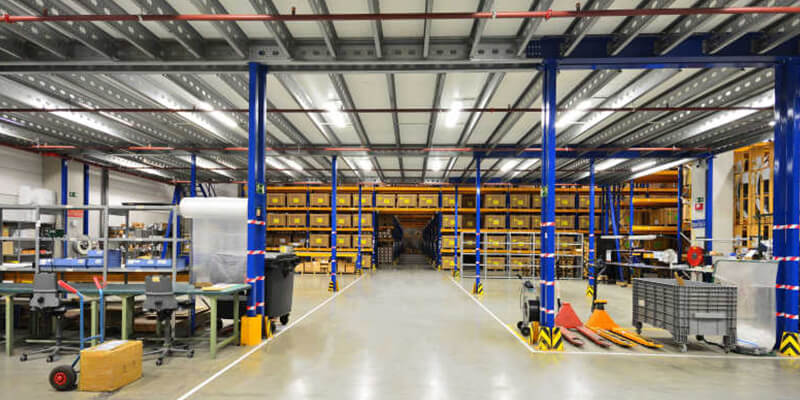 Single High Bay Lights for Logistic Center Lighting