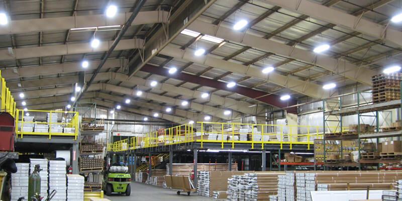 Single High Bay Lights for Warehouse Lighting