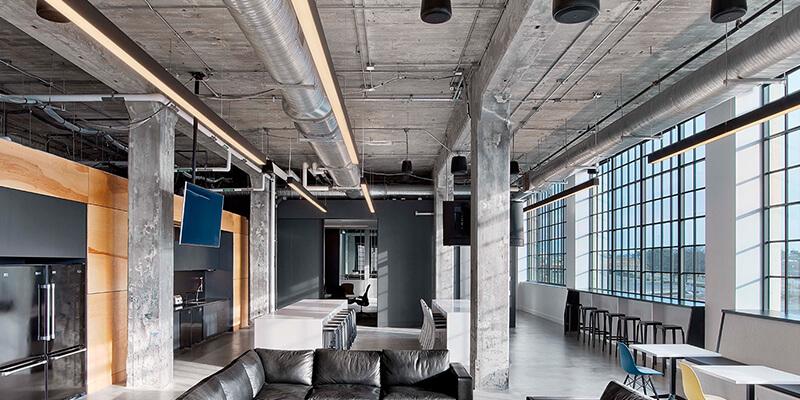 Slide Shop Lights for Office Lighting