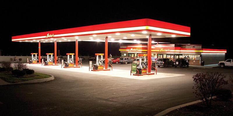 UFO High Bay Lights for Gas Station Lighting