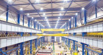 LED Industrial Lights Banner Image