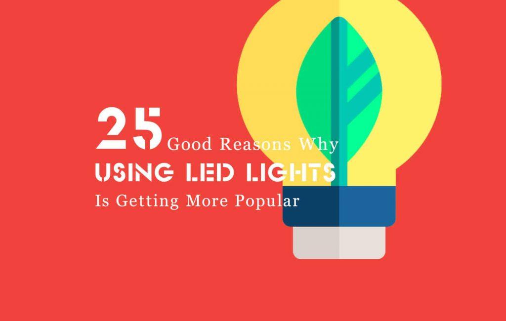 Using LED lights